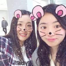 中村輪夢の母親と姉の写真