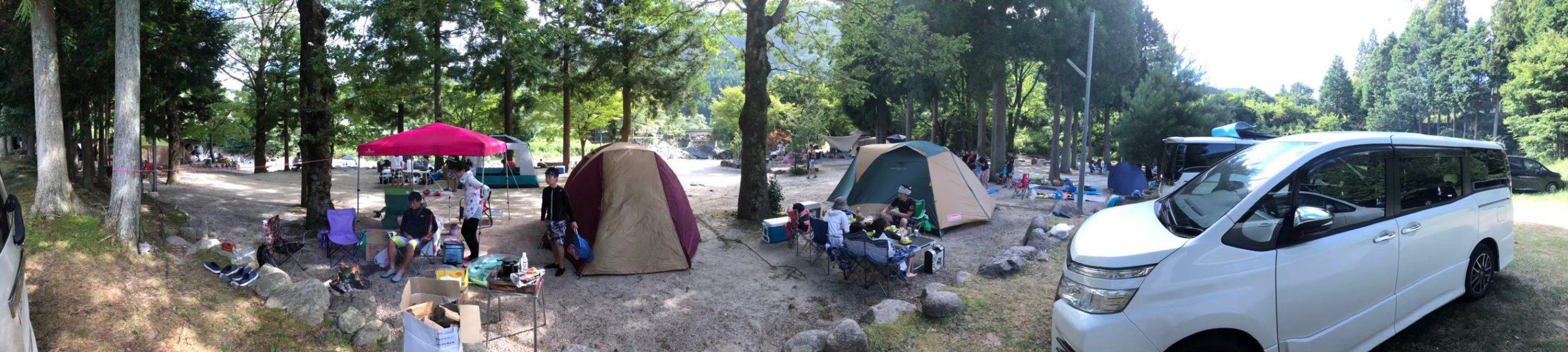 キャンプ全体