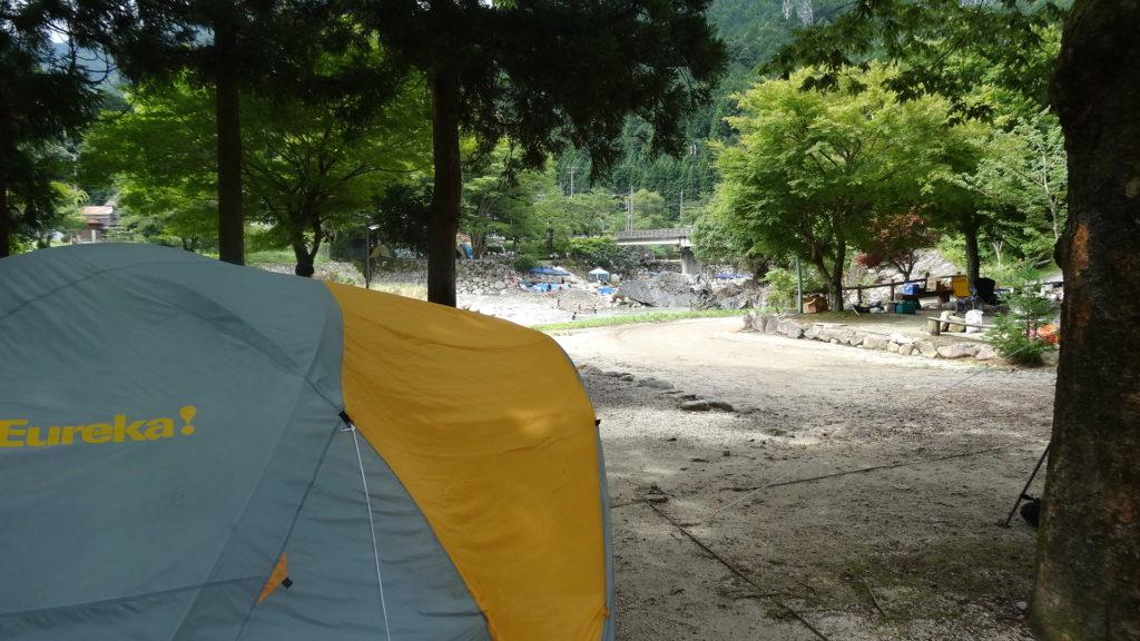 キャンプ場の様子1