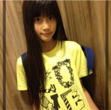 生見愛瑠の中学の画像
