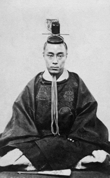 徳川慶喜の肖像画
