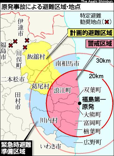 東日本大震災警戒区域