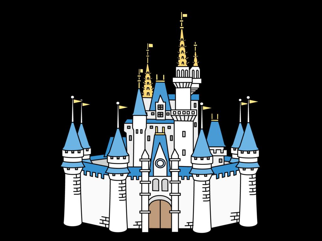 東京ディズニーランドのシンデレラ城