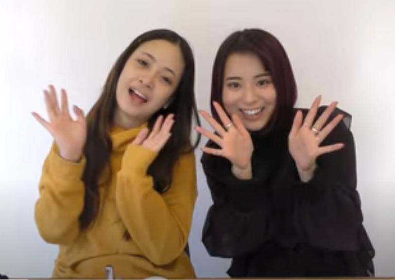 マリア愛子と安田乙葉のすっぴん