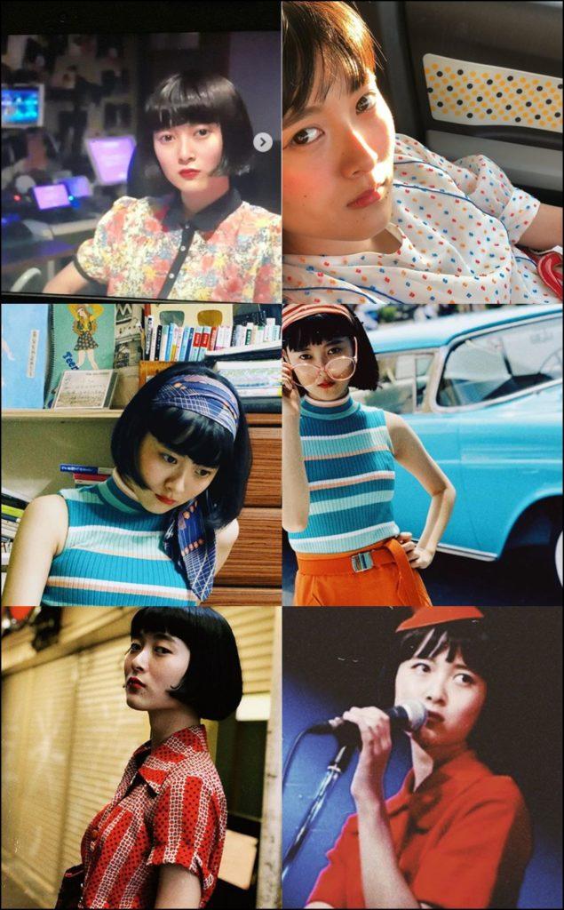 アマイワナさん6種類のファッションの写真