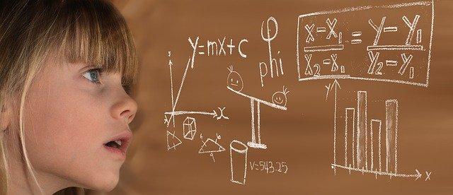 物理の公式がかかれている